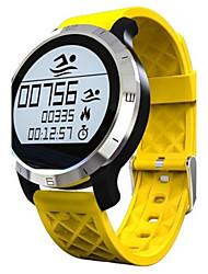 Недорогие -Муж. Смарт-часы Модные часы Цифровой силиконовый Группа Черный Серый Желтый