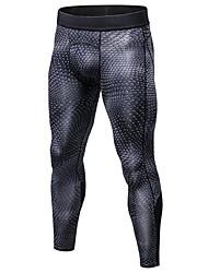 abordables -YUERLIAN Homme Collants de Course Running Pantalon de Compression Leggings de Sport 3D Des sports Vêtements de Compression / Sous maillot Collants Course / Running Fitness Jogging Vélo Cyclisme