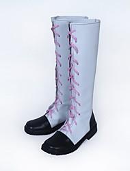 Недорогие -Обувь для косплэй Сапоги для косплея RWBY Косплей Аниме Обувь для косплэй Кожа PU Кожа Искусственная кожа/Полиуретановая кожа Взрослые
