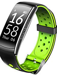 Недорогие -Q6 умный браслет Bluetooth фитнес-трекер поддержка уведомления / монитор сердечного ритма спортивные водонепроницаемые умные часы, совместимые с телефонами Iphone / Samsung / Android