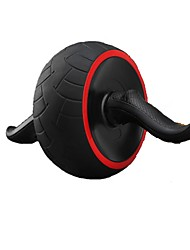 cheap -Ab Wheel Roller With Form Fit, Simple, Life Rubber, Steel, Alloy For Exercise & Fitness