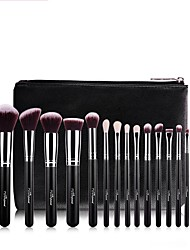 cheap -Professional Makeup Brushes Makeup Brush Set 1 set Multi-function Easy to Carry Easy Carrying Easy to Use Artificial Fibre Brush Aluminium / Wood Makeup Brushes for Makeup Brush Set