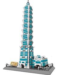 abordables -WANTOY Blocs de Construction Kit de Maquette Bâtiment Célèbre Fun & Whimsical Garçon Fille Jouet Cadeau