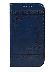 cheap -Case For Samsung Galaxy S6 edge / S6 / S5 Wallet / Card Holder / with Stand Full Body Cases Heart Hard PU Leather