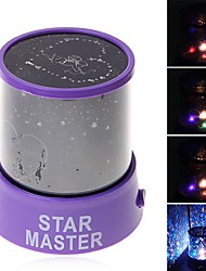 cheap -Starry Night Light LED Lighting Projector Lamp ABS Romantic 1 pcs Kid's Toy Gift