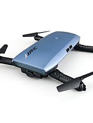 Недорогие -RC Дрон JJRC H47HW 10.2 CM 6 Oси 2.4G С HD-камерой 720P Квадкоптер на пульте управления FPV / Светодиодные фонарики / Авто-Взлет Квадкоптер Hа пульте Yправления / Пульт Yправления / Камера