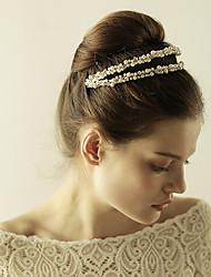 cheap -Imitation Pearl / Rhinestone Tiaras / Headbands with 1 Wedding / Special Occasion / Anniversary Headpiece