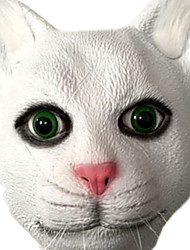 cheap -Halloween Mask Animal Mask Glue Party Cat Horror Adults' Unisex