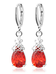 cheap -Women's Drop Earrings Personalized Fashion Earrings Jewelry White / Red For Wedding Party Casual