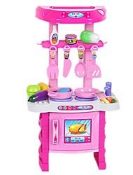 Недорогие -Игрушечные машинки Бакалея Торговый Игрушка кухонные наборы Чистящие игрушки Кулинарные игрушки моделирование Пластик Детские Мальчики Девочки Игрушки Подарок