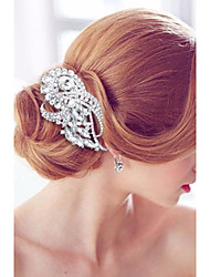 cheap -Alloy Hair Combs / Headwear with Floral 1pc Wedding / Special Occasion / Party / Evening Headpiece