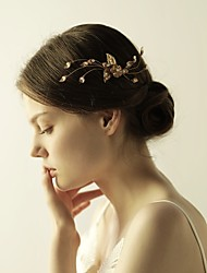 cheap -Alloy Tiaras / Hair Combs / Flowers with 1 Wedding / Special Occasion / Anniversary Headpiece