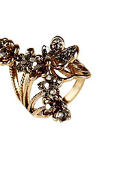 cheap -Women's Gold Silver Silver Plated Gold Plated Alloy Geometric Personalized Floral Flower Style Wedding Party Jewelry Flower Flower Butterfly