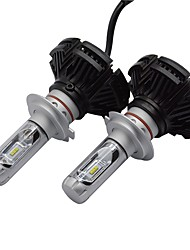 cheap -2pcs H8 / 9006 / 9005 Car Light Bulbs 50W High Performance LED 6000lm Headlamps Headlamp