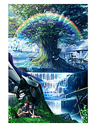 cheap -1000 pcs Dome Cartoon Plant Friendship Jigsaw Puzzle Adult Puzzle Jumbo Wooden Adults' Toy Gift