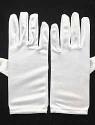 cheap -Spandex Wrist Length Glove Bridal Gloves / Party / Evening Gloves With Ruffles