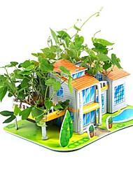 abordables -Puzzles 3D Puzzle Bâtiment Célèbre Maison A Faire Soi-Même polystyrène Papier Enfant Jouet Cadeau