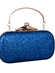 cheap -Women's Bags leatherette Clutch Rhinestone MiniSpot Sequin Wedding Party Event / Party Black Blue Gold Silver