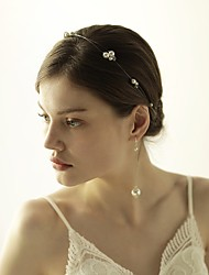 cheap -Imitation Pearl Tiaras / Headbands with 1 Wedding / Special Occasion / Anniversary Headpiece