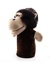 cheap -Finger Puppets Puppets Educational Toy Hand Puppet Hand Puppets Stuffed Animal Plush Toy Rabbit Monkey Bear Tiger Cute Animals Lovely Cotton Cloth Plush Imaginative Play, Stocking, Great Birthday