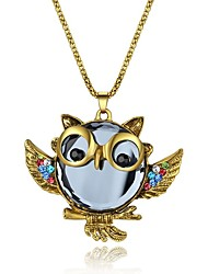 cheap -Pendant Necklace Women's Synthetic Diamond Animal Classic Fashion Gold Necklace Jewelry for Party Gift Daily Evening Party Stage