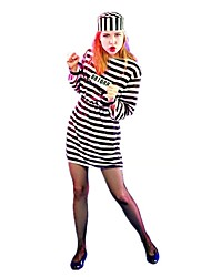 cheap -Skeleton / Skull Zombie Cosplay Dress Cosplay Costume Women's Halloween Carnival Day of the Dead Festival / Holiday Terylene Women's Carnival Costumes Vintage / Hat
