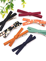 cheap -Cross Fabric Korean Version of the Hairpin Side Folder Liu Hai Folder Wholesale Hairpin Original Headdress Clip Mixed Hair 20PCS