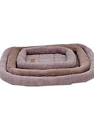 cheap -Dog Bed Pet Mats & Pads Fabric Blue Pink Coffee