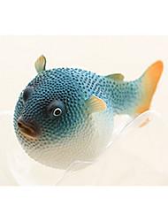 cheap -Fish Tank Aquarium Decoration Fish Bowl Artificial Fish Random Color Luminous Plastic Rubber 8*5*6 cm
