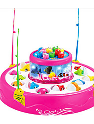 cheap -Fishing Toy Educational Toy Rotating Fishing Toy Fish 2 Players Plastics Kid's Toy Gift 1 pcs