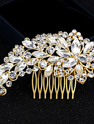 cheap -Rhinestone / Alloy Hair Combs with 1 Wedding / Special Occasion / Birthday Headpiece