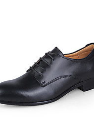 cheap -Men's Dress Shoes Leather Spring / Fall Business Wedding Shoes Black / White / Blue / Lace-up / EU40