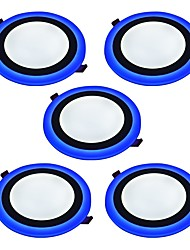 cheap -6 W 2835 LED Beads Decorative LED Panel Lights Natural White Blue 85-265 V / 5 pcs