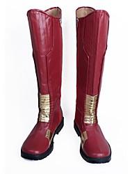 Недорогие -Обувь для косплэй Сапоги для косплея Косплей Косплей Аниме Обувь для косплэй Кожа PU Кожа Искусственная кожа/Полиуретановая кожа Взрослые