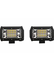Недорогие -Автомобиль Лампы 72W SMD 3030 14400lm Светодиодная лампа Рабочее освещение