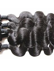 Недорогие -Натуральные волосы Естественные кудри Бразильские волосы 1000 g Более года