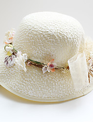 cheap -Tulle / Chiffon / Fabric Fascinators / Hats with 1 Wedding / Special Occasion / Birthday Headpiece