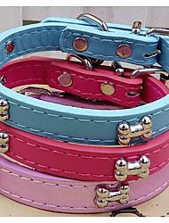cheap -Collar Portable Bone PU Leather