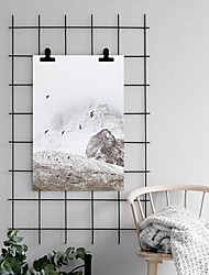 cheap -Landscape Wall Art,PS Material With Frame For Home Decoration Frame Art Living Room Dining Room