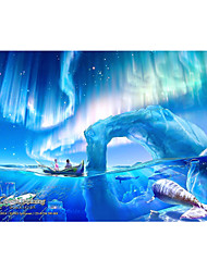 cheap -1000 pcs Ship Cartoon Jigsaw Puzzle Adult Puzzle Jumbo Wooden Adults' Toy Gift