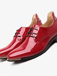 cheap -Men's Formal Shoes TPU Fall / Winter Wedding Shoes Black / Navy Blue / Red / Dress Shoes / EU42