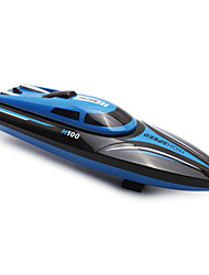 cheap -RC Boat TKKJ H100 Speedboat ABS 4 pcs Channels KM/H