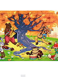 abordables -Puzzles en bois Jeux Avec Pions en Bois Dinosaure Amusement Classique Unisexe Jouet Cadeau