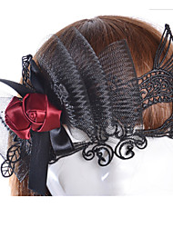 cheap -Halloween Mask Masquerade Mask Sexy Lace Mask Party Novelty Horror Adults' Girls'