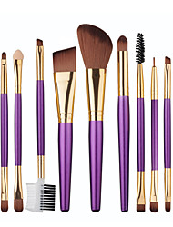 cheap -Professional Makeup Brushes Makeup Brush Set 12pcs Synthetic Hair Beech Wood Makeup Brushes for Eyeliner Brush Blush Brush Foundation Brush Lip Brush Eyebrow Brush Eyeshadow Brush Eyelash Brush
