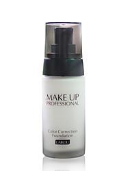 abordables -Baume Fond de Teint Humide Couverture / Correcteur / Naturel Œil / Lèvre / Visage Maquillage Cosmétique