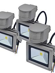 cheap -JIAWEN 3pcs Sensor Led Flood Light Outdoor Human Body Induction Spotlight Floodlight 10W IP65 Waterproof Garden Lighting AC85-265 V