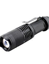 cheap -LED Flashlights / Torch 1000 lm LED - Emitters Manual Mode Outdoor Camping / Hiking / Caving Outdoor