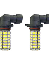 cheap -2pcs H11 / 9005 / 9006 Car Light Bulbs 4 W SMD 3528 385 lm LED Light Bulbs Fog Light
