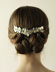 cheap -Alloy Tiaras / Hair Combs with 1 Wedding / Special Occasion / Anniversary Headpiece